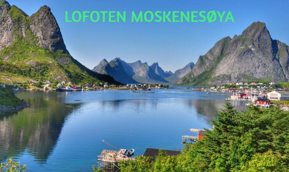 LOFOTEN MOSKENESØYA