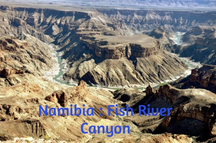 Namibia : Fish River Canyon