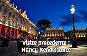 Visite precedente : Nancy Renaissancee