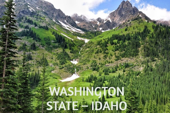 WASHINGTON STATE – IDAHO