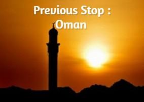 Previous Stop : Oman