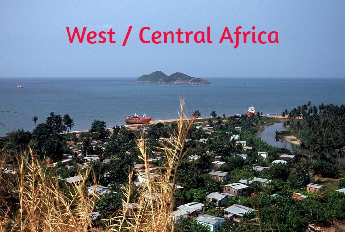 Destinations : West / Central Africa