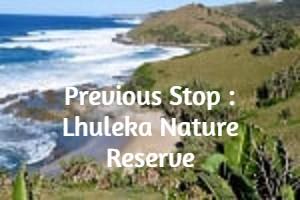 Previous Stop : Lhuleka Nature Reserve