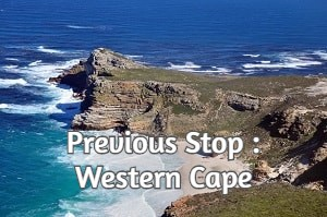 Previous Stop : Western Cape