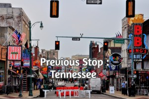 Previous Stop : Tennessee