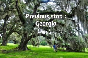 Previous stop : Georgia