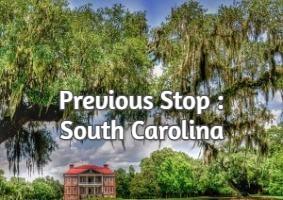 Previous Stop : South Carolina