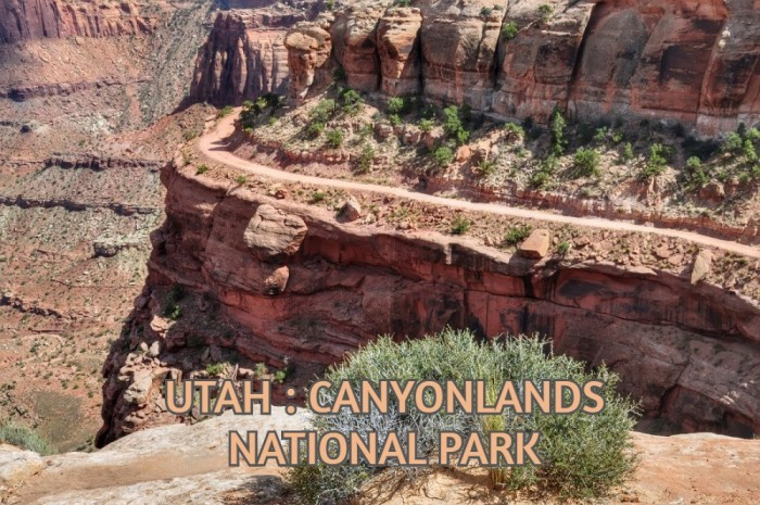 UTAH : CANYONLANDS NATIONAL PARK