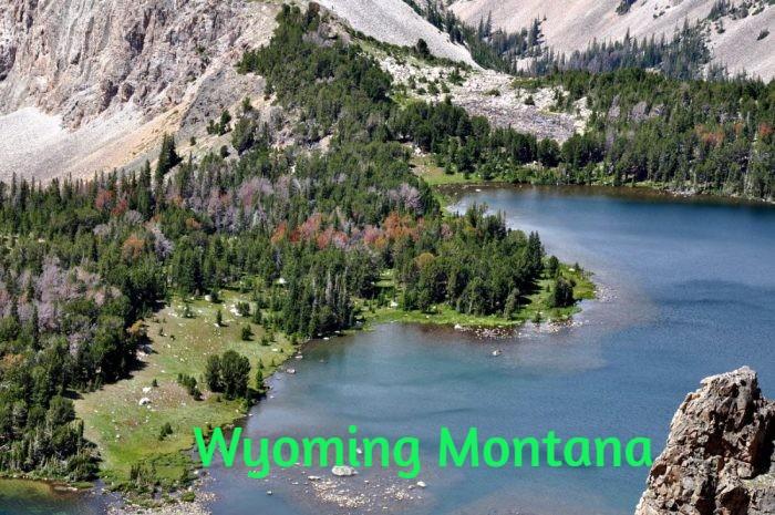 Wyoming Montana