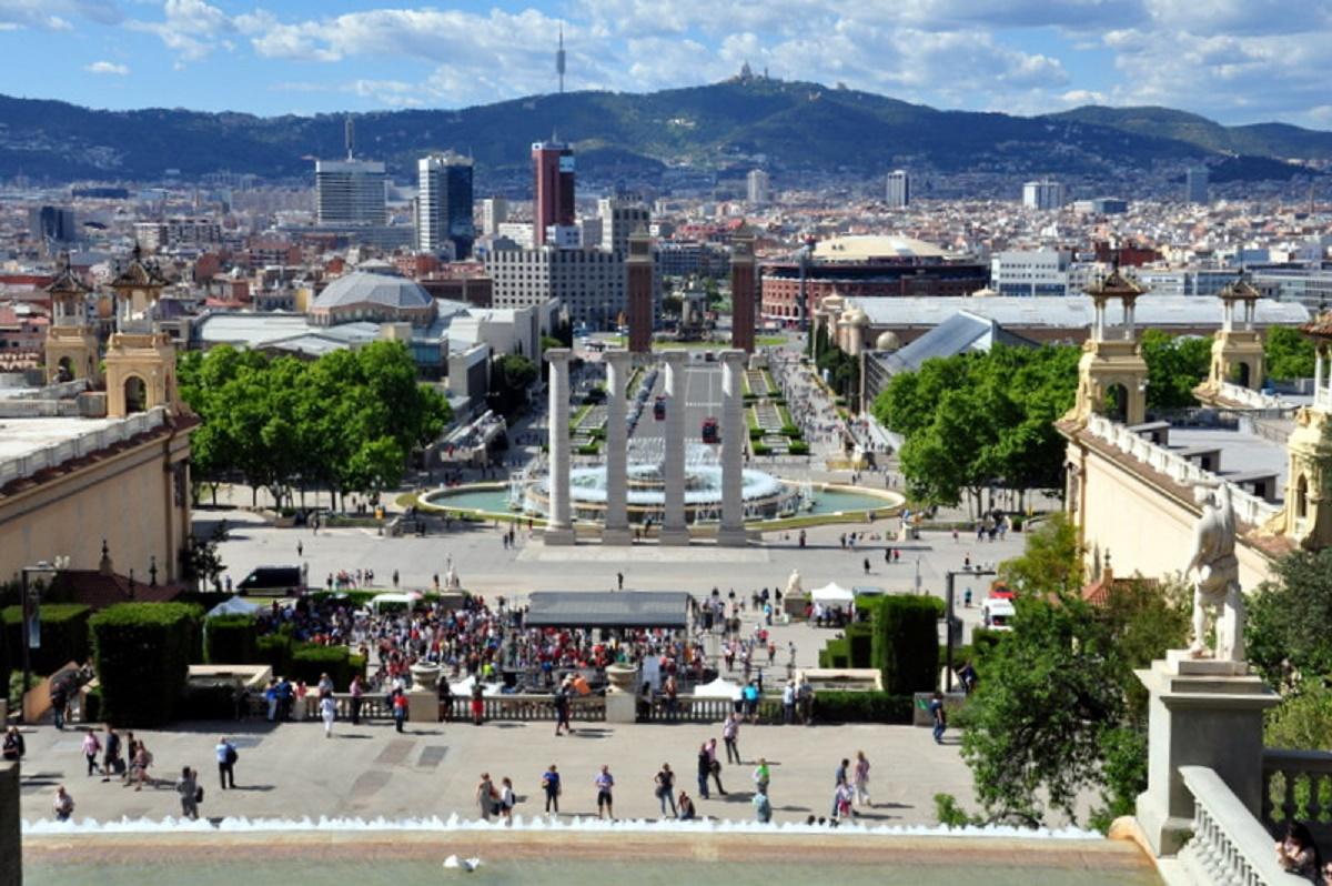View from Montjuïc