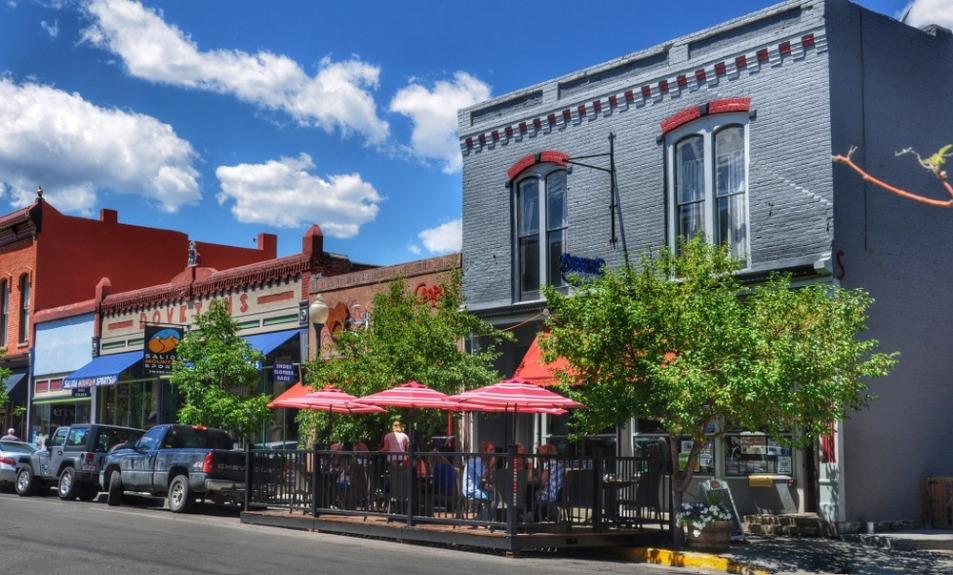 Salida : historic district : Currents Restaurant